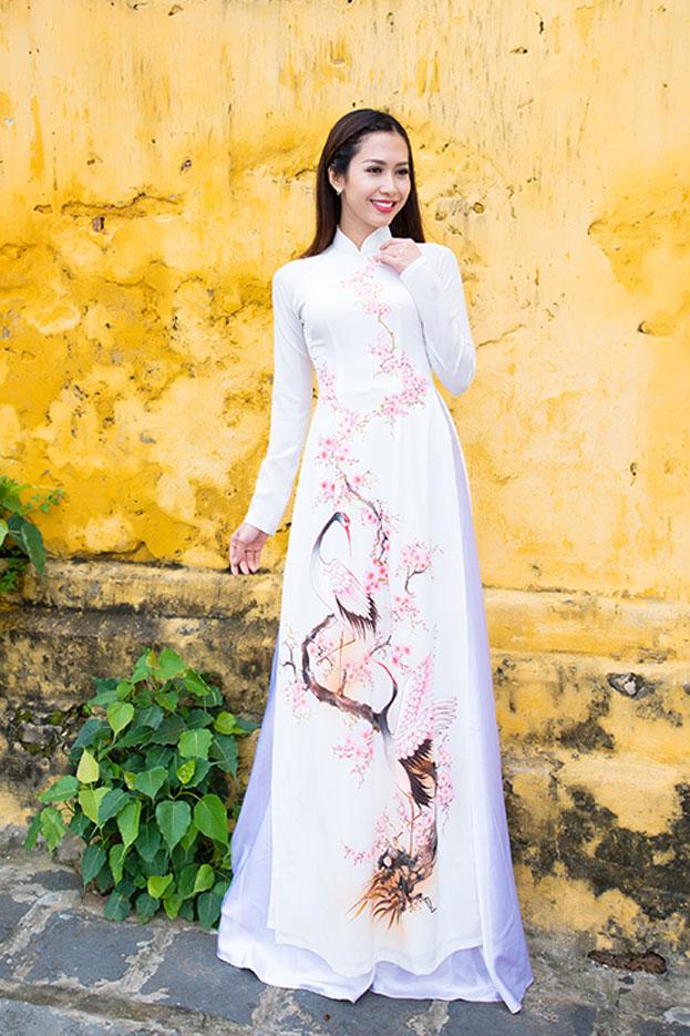 Modern Áo dài  Việt Nam  linh in 2018  Pinterest