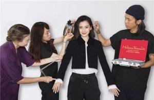 Mỹ nhân Hoa ngữ Angelababy được dựng tượng sáp