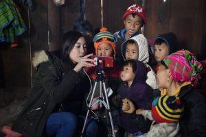 Hoa hậu Mỹ Linh gây bất ngờ khi xuất hiện trong bản tin thời sự của VTV9