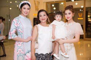 3 thế hệ gia đình Á hậu Diễm Trang rạng rỡ trên thảm đỏ Asian Kids Fashion Week