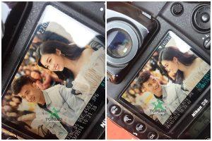 HOT: Lộ ảnh thủ môn Bùi Tiến Dũng và Hoa hậu Mỹ Linh gặp gỡ, nhìn nhau tình bể bình