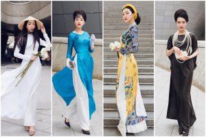 Ngọc Trân ghi điểm với 6 bộ áo dài trong 4 ngày xuất hiện tại Seoul Fashion Week