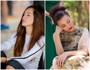 Vẻ đẹp khó cưỡng của sao Việt khi …ngủ gật
