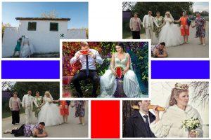Bộ ảnh cưới theo mô típ 'lạ lùng' của cặp đôi người Nga
