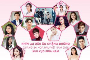 Nhìn lại hành trình tuyển sinh giao lưu quảng bá Hoa hậu Việt Nam 2018 khu vực phía Nam