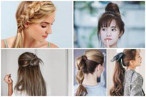 Học ngay những kiểu tóc vừa đẹp vừa tiện cho mùa hè nắng nóng