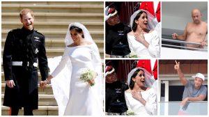 Những khoảnh khắc vui nhộn trong đám cưới Hoàng Gia
