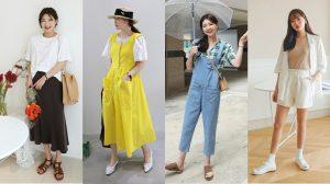 Gợi ý 5 cách mix đồ vừa xinh vừa mát trong những ngày nóng nực của con gái Hàn
