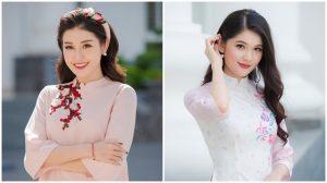 """Huyền My và Thùy Dung """"rủ nhau"""" mặc áo dài, kết thúc Tour tuyển sinh Hoa hậu Việt Nam 2018"""