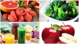 Thực phẩm thải độc cơ thể và giảm cân cực tốt
