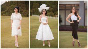 Hà Kiều Anh, Hương Giang tái hiện đám cưới hoàng gia Anh với mũ 'độc'