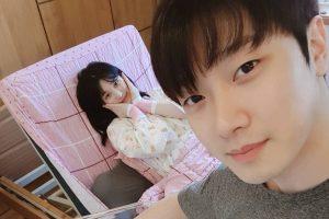 Cặp đôi Minhwan – Yulhee khoe ảnh bé mới sinh siêu cute