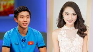 """""""Nghi án"""" soái ca U23 Phan Văn Đức hẹn hò Top 10 HHHV Ngọc Nữ"""