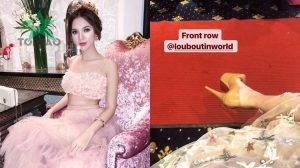 Hot girl 'hội con nhà giàu Việt Nam' bị loại khỏi The Face vì mang đôi giày 25 triệu?