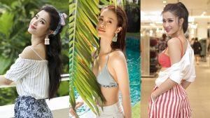Đông Nhi trẻ trung gợi cảm trong BST hè H&M
