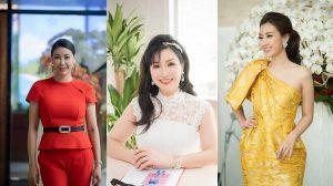 """3 Hoa hậu Việt Nam đọ sắc: Đỗ Mỹ Linh tỏa sáng, Hà Kiều Anh và Bùi Bích Phương đẹp """"hack"""" tuổi"""