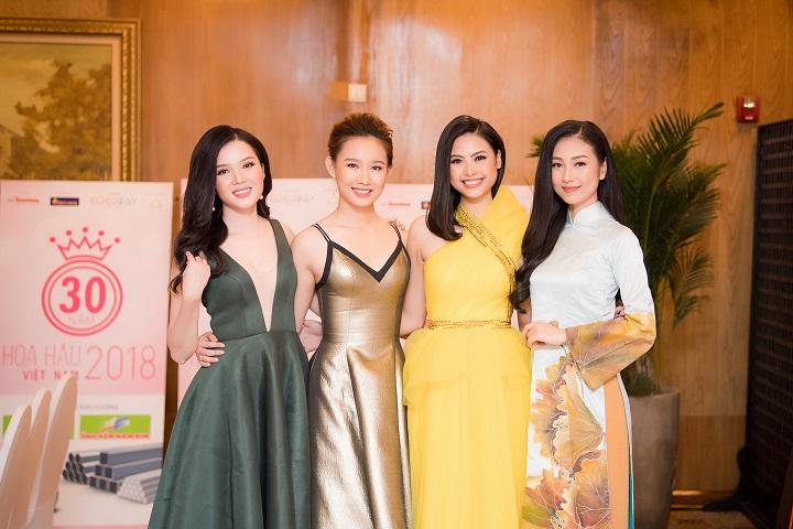 Các người đẹp bước ra từ cuộc thi Hoa hậu Việt Nam