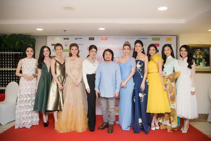 Tổng đạo diễn Hoàng Nhật Nam và các Hoa hậu, Á hậu, người đẹp
