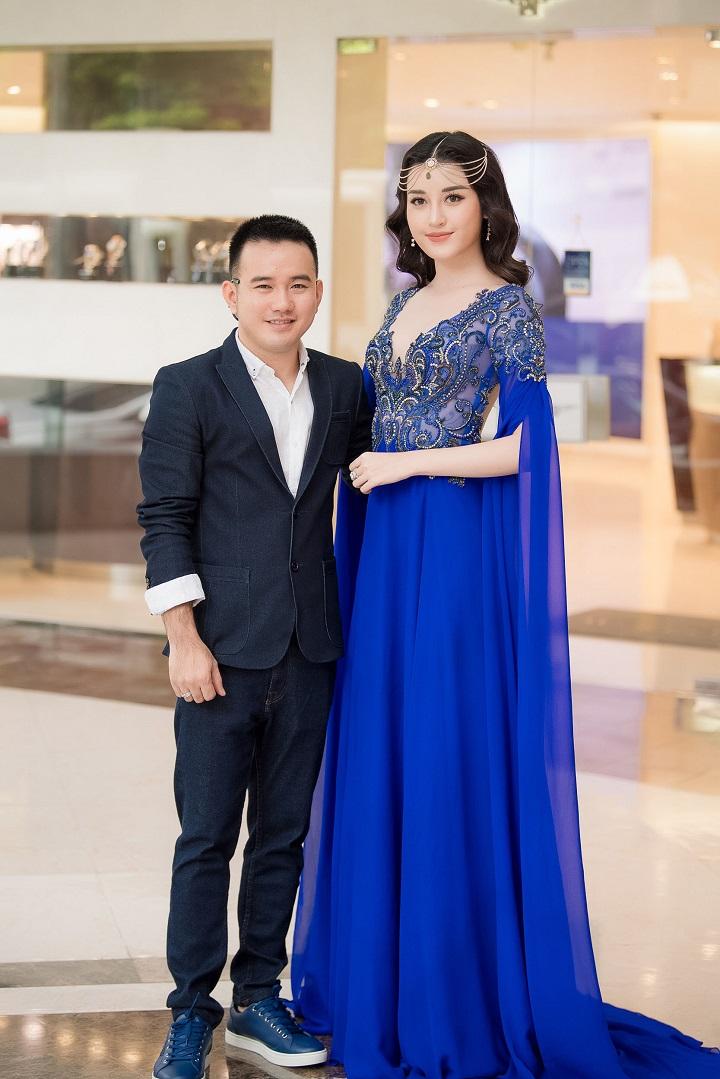 Nhà thiết kế Lê Thanh Hòa và Á hậu Huyền My