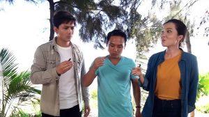 Độc lạ món dông nướng hoang dã ở Bình Thuận