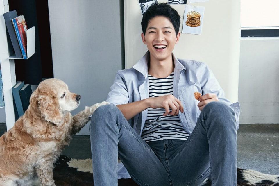 Nam diễn viên Song Joong Ki sinh năm 1985