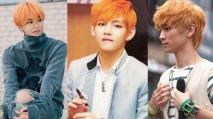 Tóc màu cam không hề khó nhằn với các idol nam này