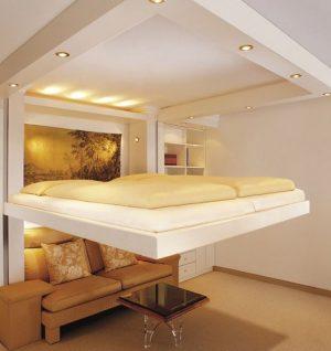 Độc đáo với chiếc giường thông minh 'biến mất' sau khi ngủ dậy