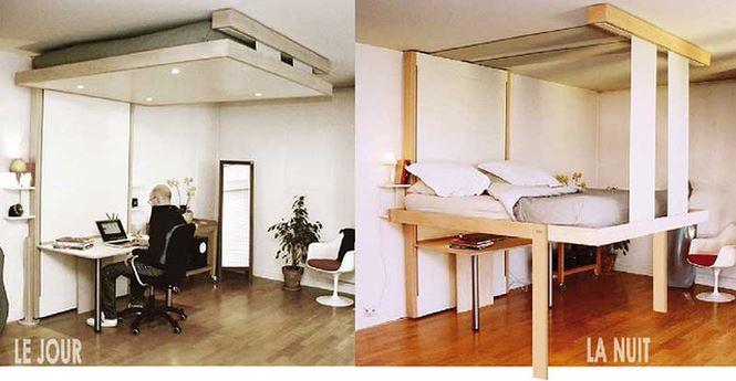Chiếc giường đa năng là sự lựa chọn tối ưu và không còn lo ngại khi sống trong một không gian nhỏ, hẹp.