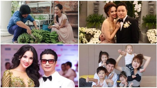 Những cô vợ đảm việc nước giỏi việc nhà của các đạo diễn Việt