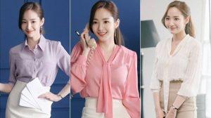 """Cách buộc tóc đuôi ngựa đẹp như """"thư ký"""" Park Min Young"""