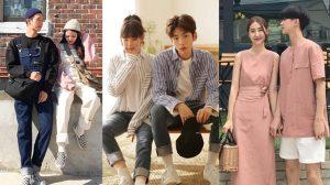 9 trend đồ đôi thường gặp ở giới trẻ Hàn Quốc