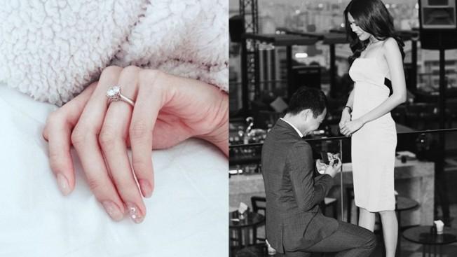 Choáng váng với chiếc nhẫn kim cương 'khủng' mà Lan Khuê nhận