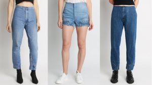 """Quần jeans lộn ngược táo bạo đích thị là hot item """"gây bão"""" của làng thời trang!"""