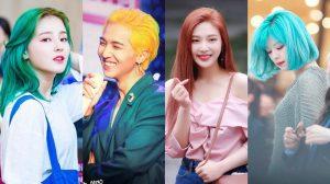 Mùa comeback đến, nhìn màu tóc của dàn thần tượng Kpop mà ngỡ như vườn hoa di động