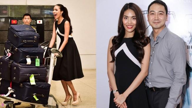 Lan Khuê cùng hôn phu - doanh nhân John Tuấn Nguyễn