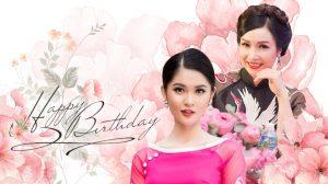 Khi hoa hậu và á hậu Việt Nam có cùng ngày sinh nhật