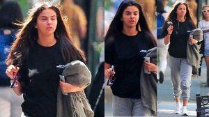 Mắt mũi sưng húp, phải chăng Selena đã khóc rất nhiều sau tin Justin đính hôn?