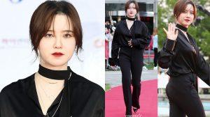 Phát tướng đến không nhận ra, nàng 'cỏ' Go Hye Sun đang mang thai với ông xã kém tuổi?