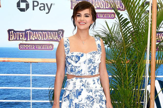 Selena Gomez tham dự buổi công chiếu phim hoạt hình Hotel Transylvania 3
