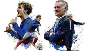Sức mạnh bất ngờ của đội tuyển Pháp: Dàn cầu thủ và HLV ở khách sạn trưng toàn chân dung mình