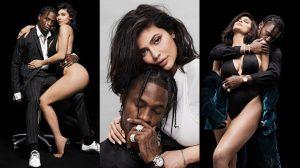 Kylie Jenner và rapper Travis Scott lần đầu xuất hiện tình tứ cùng nhau trên bìa tạp chí