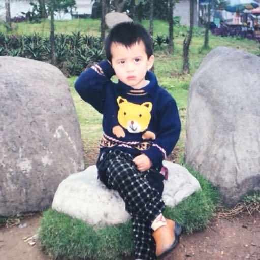 Vương Hạc Đệ để hình đại diện lúc nhỏ trên Weibo cá nhân của mình.