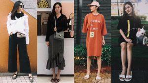 Văn Mai Hương đích thực là sao nữ chăm mang dép lê, giày bệt nhất showbiz Việt