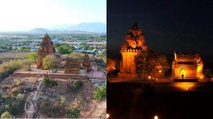 Hé lộ hình ảnh ngọn tháp Chàm đẹp nhất Việt Nam qua lăng kính flycam