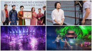 Show diễn thực cảnh Tinh hoa Bắc bộ xuất sắc xác lập hai kỉ lục Guinness Việt Nam