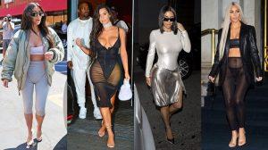 Kim 'siêu vòng 3' ngày càng mặc xấu tụt xa so với hai cô em Kylie và Kendall Jenner