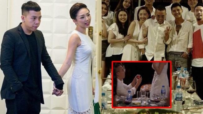 Hoàng Touliver đã lên tiếng phủ nhận cầu hôn Tóc Tiên - Topsao