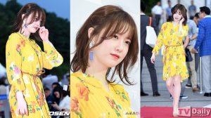 Goo Hye Sun tiếp tục diện váy rộng thùng thình sau tin đồn mang bầu