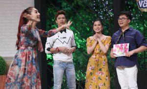 Tham gia show ẩm thực, Lâm Khánh Chi và chồng cãi nhau ngay trên sóng truyền hình