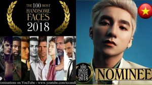 Cùng BTS, Sơn Tùng M-TP lọt Top 100 gương mặt đẹp nhất thế giới 2018